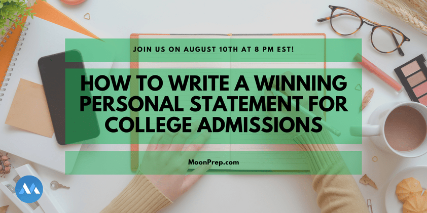 Personal Statement Webinar for BS/MD students